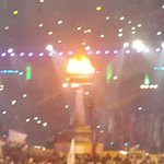 The National Games torch glowing resplendent as @kerala2015 gets under way in Thiruvananthapuram http://t.co/DQVhhehP6V
