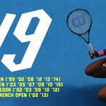 6-3 7-6. Serena Williams stands alone on 19 grand slam titles. http://t.co/Ll98V0Oxxn