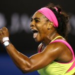 Well done @serenawilliams - congratulations for the win - thanks for the coverage @AustralianOpen http://t.co/3kIhNGCYGD