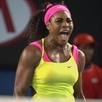 Boom. Serena Williams wins @AustralianOpen. Moves to #19 and counting. Congrats Serena. Legend. http://t.co/QJFi5mNb8c