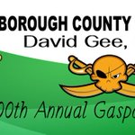 GOOD MORNING ~ @HCSOSheriff David Gee hopes those attending todays 100th Annual @GasparTampa have a safe & fun day! http://t.co/pwJftJETlb