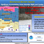 Winter Storm Warning has been issued for our northernmost counties...possible 9 to 12 inches of snow #inwx #nwsind http://t.co/z17HIhOPGY