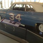 Wendell Scotts race car -- one of the inductee exhibits at @nascarhall you can see for FREE today. Next on @wcnc http://t.co/jJqD0bLOTd