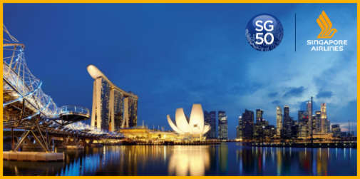 Celebrate Singapore's 50th! Enjoy major attractions & accommodation from $1 when you visit: