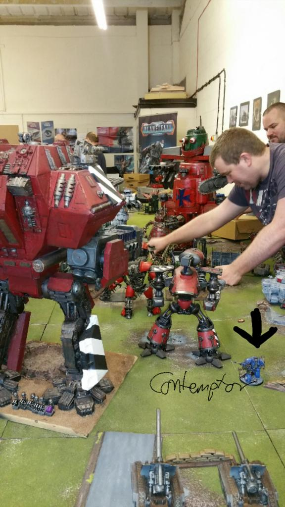 My contemptor is feeling a bit inadequate.  @SlayerGamingUK #40k #warmongers http://t.co/hIOmF9lQk7