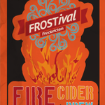 Have you got your #STORMcider yet???? All setup @FredFarmMarket with the new #FROSTival #firecider to warm you up:):) http://t.co/SwQgrZPvGP