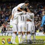 Llega la @realsociedad del Pirata @egranero11 al Bernabéu. ¡Partidazo! #HalaMadrid #RealMadridvsRSO http://t.co/KPOhFe6y9d
