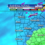 By noon Monday, an average quarter to a half inch of rain will fall over north Georgia with a front @wsbtv http://t.co/A4XeA3kaMm