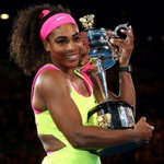 ????#SerenaWilliams wins her 19th Major at the #AustralianOpen. See you at the French! http://t.co/i7gnEqvp5Z