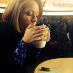 RT @DylanDreyerNBC: They let me inside!! This apple cinnamon tea has never tasted so...warm! @TODAYshow