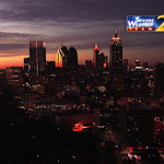 A picture perfect #sunrise just getting underway over the #ATL. High clouds today with a high near 54. @wsbtv http://t.co/NwDVpxSnQH