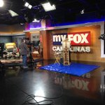 Behind that easel is Community Supported Art artist Emily Andress creating art on @FOX46CAROLINAS #GoodDayCarolinas http://t.co/zE6t2MpHOm