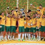 Australia campeona de Asia. Confederaciones 2017: Rusia, Alemania y Australia ya están http://t.co/j8xEIhl4KS