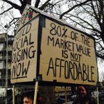 Now this is what you call a placard #MarchForHomes http://t.co/DWtF2mzTF7