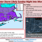 "DRAT!!! ""@NWSBoston: Light snow this AM, then more snow Sun night-Mon. Be aware!! Please share the latest info! http://t.co/iJ4f1ML3Ld"""