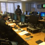 Right now Im inside a law enforcement command post where officers will monitor #GASPARILLA2015. http://t.co/6AusJ2v8dB