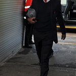 PHOTOS: @D_Sturridge arrives at Anfield for todays game. Hes named on the bench against West Ham http://t.co/FwNLdSnwDC