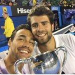 WE ARE THE CHAMPIONS!!!! AUSTRALIAN OPEN 2015 🏆🏆🏆🏆🏆 @BolelliSimone http://t.co/1pmmiSznFJ