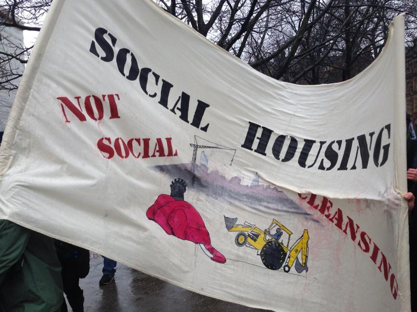 March for Homes reaches the fortress of reaction - City Hall #march4homes http://t.co/SMGPKlCHta