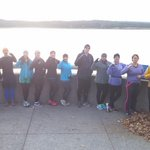 Showing our support for the @Runningmocs at this mornings group #run! @UTChattanooga #CHA http://t.co/4n76TsD7Kv