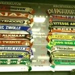 Mooi trouwens, in de perskamer van FC Twente, de stand in de eredivisie op deze originele manier uitgebeeld. http://t.co/LyyqMbgINp