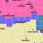 Winter Weather Advisory for #Indianapolis row of counties 7pm tonight-7am Monday. Winter Storm Warning north. http://t.co/wGbKlLevRm