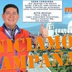 Domingo 1 de Febrero, Domingo de Alegría !! Fiesta democrática en la Tutunichapa !! @tcsnoticias @noticias4vision http://t.co/axdTAE9AJ7