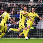 PHOTO @hkane28 celebrates making it West Brom 0-2 Spurs. Kane now has 19 goals in all competititons (9 in the #BPL) http://t.co/GqjGR7h1tF
