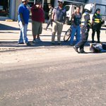 Joven no identificado lesionado al ser arrollado por vehículo en carretera Panamerica San Miguel, frente a Galvanissa http://t.co/Ycl2TtiYal