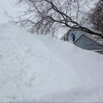 Shovelling on the roof, you do what you got to do #nb #nbstorm http://t.co/jaldU2fv3o