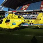 glad to help @htafcdotcom when their injured player needed urgent transfer to hospital.Wishing him well #yaaonthejob http://t.co/Ux3SCDAY8V