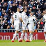 HT: Real Madrid 2-1 Real Sociedad (James Rodríguez, 3'; Ramos, 36' / Aritz, 1') http://t.co/mYkEPFgDN1 (via Twitt… http://t.co/8lU8axeEqY