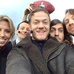 Super Bowl selfies... Easier said than done. http://t.co/8uIUHRXIZE