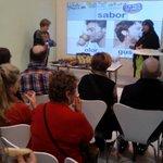 La DOP Pera de Lleida, una de las protagonistas del día en el estand del @magramagob en @feriafitur. http://t.co/50HaxhGd1I