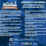 Hoy es sábado 31 de enero y hay Noche de Museos. #Puebla http://t.co/4eou4LgTUn