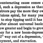 Irving Fisher on the Great Depression. Could be talking about Greece.... http://t.co/5VIdteI1p1