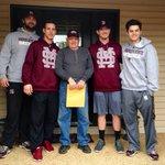 Blog: Adventures with Wes Rea delivering @HailStateBB season tickets around Starkville https://t.co/ufX6Zb11U0 http://t.co/rXgqOKOVYN