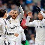 FINAL: Real Madrid 4-1 Real Sociedad (James, 3'; Ramos, 36'; Benzema, 51' y 76' / Aritz, 1') #RealMadridvsRSO #RMLive http://t.co/X19nhniMvr