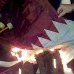 """""""@algepally: ليبيون يحرقون أعلام قطر وتركيا احتجاجا على دعمهم للإرهاب رسالة الرئيس وصلت ليبيا http://t.co/gNB6uQdMoH"""" عقبال ما توصل #مصر"""