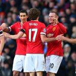 FT: United 3 Leicester 1. Hasil yang bagus untuk naik ke posisi 3. #mufcIDlive http://t.co/wZn84l1alz