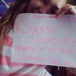 @lodocomello MUCHA SUERTE PARA MAÑANA DESDE ARGENTINA BAHIA BLANCA!!! ❤???? Te amo con todo mi ❤, sos todoooooo???????? http://t.co/l1QVAPzL7V