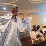"""""""@lolashoneyin: Senator Hadi Sirika introduces @ThisIsBuhari @ProfOsinbajo to the Emir. http://t.co/x7rKmneoz9""""  cc @Fatymahhh"""