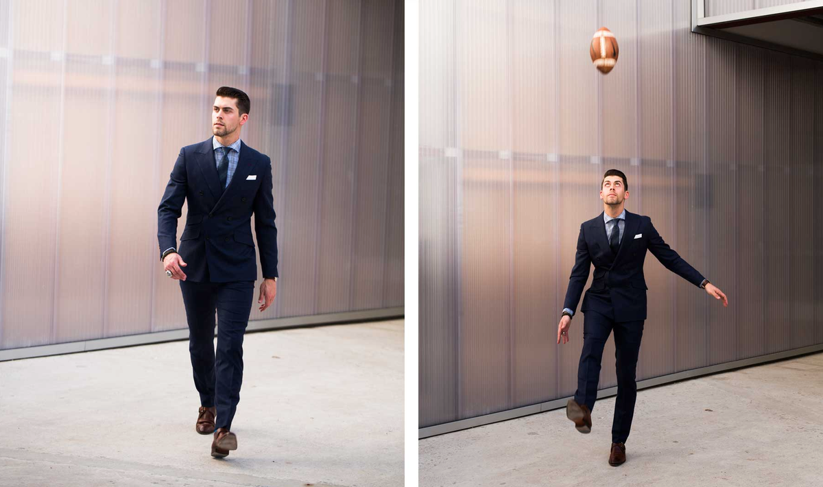 Here's the kicker. @jtuck9 talks style, teamwork, and what it's like to win the #SuperBowl. http://t.co/TK7zwlD6Nx http://t.co/DzmKn8oNoQ