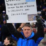 Chelsea fans welcome Frank Lampard back to Stamford Bridge with banners. Not all are nice... http://t.co/u9kcszh7l2 http://t.co/uItS84ryuY