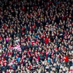 Picture of the day: 21,000 Aberdeen fans at Hampden today compared to the 8,000+ Dundee United supporters. #redarmy http://t.co/0yQ6etXC7L