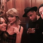 "Hov so white ""@taylorswift13: Happy Birthday, @jtimberlake! Thank you for your music, comedy, daaaahncing http://t.co/C1InqGmG6Z"""