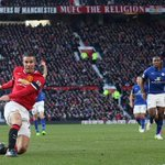 Man Utd went 3rd in the #BPL as @Persie_Official helped them see off Leicester. Report: http://t.co/H4UiLMqWtC http://t.co/Ow61XsaWpu