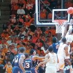 Moore with elbow ABOVE the rim on put back dunk. http://t.co/U6uZrqyXyN