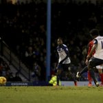 Images: @ShaqCoulthirst celebrates winning the game for he Blues with his late, late penalty at Roots Hall. #COYB http://t.co/dkeAUh9DKl