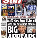 How Hacked Off/Leveson compliant press regulation supporting @GaryLineker was smeared by tax hating Sun newspaper http://t.co/45myFkK4Vy